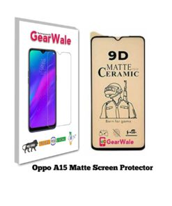 Oppo A15 Matte Screen Protector for GAMERS