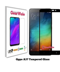 Oppo A37 Full Screen Tempered Glass 2.5D Curved 9H Hardness