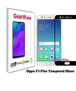 Oppo F3 Plus Full Screen Tempered Glass 2.5D Curved 9H Hardness