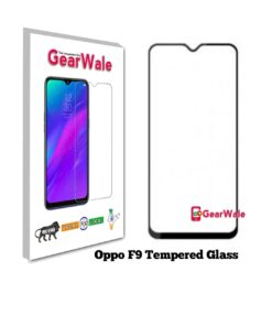 Oppo F9 Full Screen Tempered Glass 2.5D Curved 9H Hardness