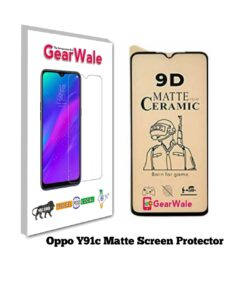 Oppo Y91c Matte Screen Protector for GAMERS