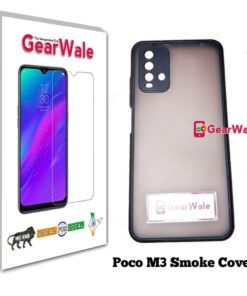 Poco M3 Smoke Cover Special Edition with camer Protection