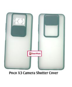 Poco X3 Camera Shutter Smoke Cover Limited Edition