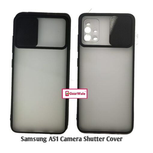 Samsung Galaxy A51 Camera Shutter Smoke Cover Limited Edition