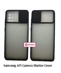 Samsung Galaxy A71 Camera Shutter Smoke Cover Limited Edition