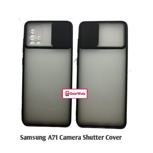 Samsung Galaxy A71 Camera Shutter Smoke Cover Limited Edition