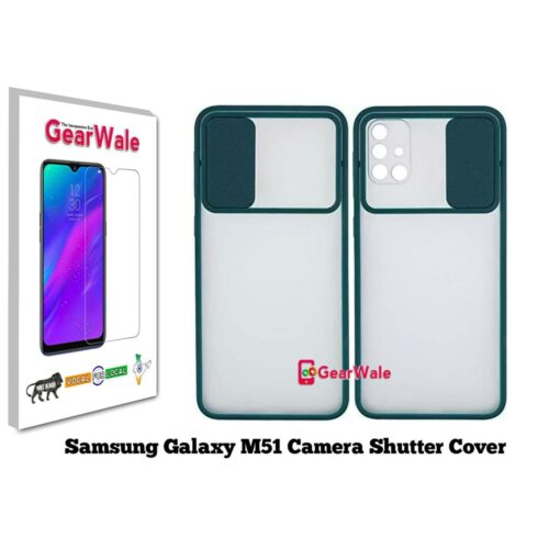 Samsung Galaxy M51 Camera Shutter Smoke Cover Limited Edition