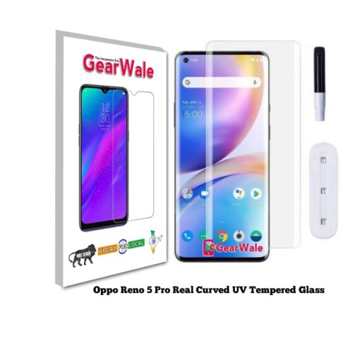Oppo Reno 5 Pro Real Curved UV Tempered Glass