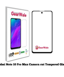 Redmi Note 10 Pro Max Full Screen Tempered Glass with camera Cut Out