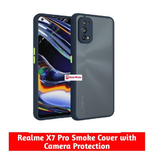 Realme X7 Pro Smoke Cover Special Edition with camer Protection