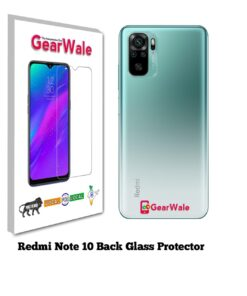 Redmi Note 10 Back Side Glass Protector
