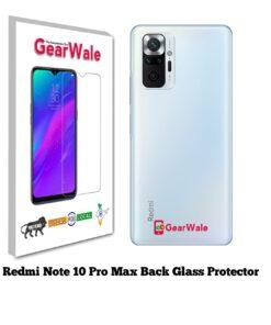 Redmi Note 10 Pro Max Back Side Glass Protector