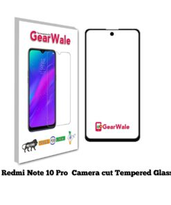 Redmi Note 10 Pro Full Screen Tempered Glass with camera Cut Out