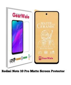 Redmi Note 10 Pro Matte Screen Protector for GAMERS