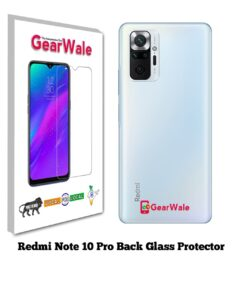 Redmi Note 10 Pro Back Side Glass Protector