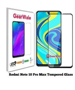 Redmi Note 10 Pro Max Full Screen Tempered Glass