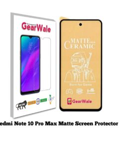 Redmi Note 10 Pro Max Matte Screen Protector for GAMERS