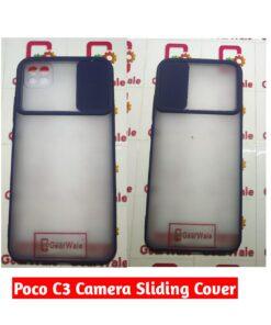 Poco C3 Camera Shutter Smoke Cover Limited Edition