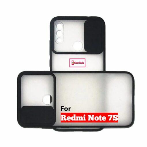 Redmi Note 7S Camera Shutter Smoke Cover Limited Edition