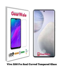 Vivo X60 Pro Real Curved UV Tempered Glass