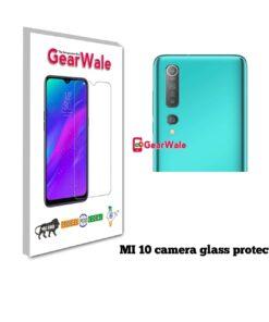 MI 10 Camera Glass Protector