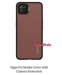 Oppo F17 Smoke Cover With Camera Protection Special Edition