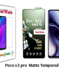 Poco X3 Pro Matte Tempered Glass For Gamers