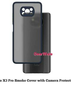 Poco X3 Pro Smoke Cover With Camera Protection Special Edition