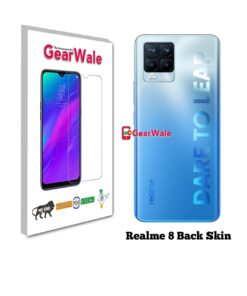 Realme 8 Back Side Glass Protector