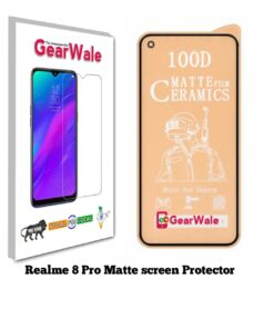 Realme 8 Pro Matte Screen Protector for GAMERS