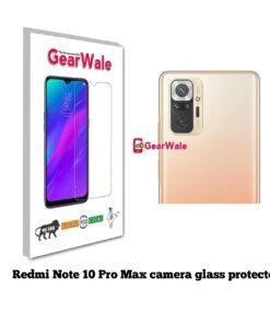 Redmi Note 10 Pro Max Camera Glass Protector