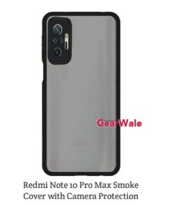 Redmi Note Pro Max Smoke Cover With Camera Protection