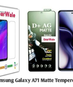 Samsung Galaxy A71 Matte Tempered Glass For Gamers