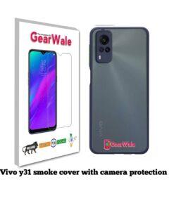 Vivo Y31 Smoke Cover With Camera Protection Special Edition