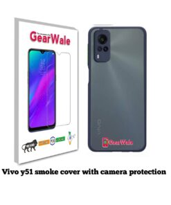 Vivo Y51 Smoke Cover With Camera Protection Special Edition