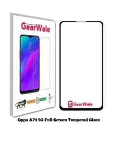 Oppo A74 5G OG Tempered Glass 9H Curved Full Screen