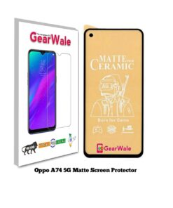 Oppo A74 5G Matte Screen Protector for GAMERS