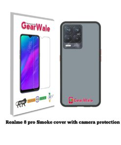 Realme 8 Pro Smoke Cover With Camera Protection Special Edition