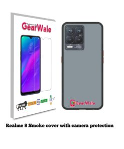 Realme 8 Smoke Cover With Camera Protection Special Edition