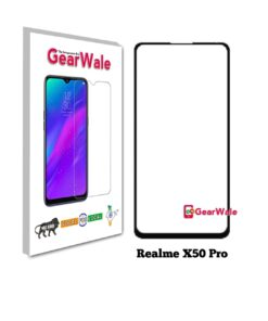 Realme X50 Pro Tempered Glass 9H Curved Full Screen Edge to Edge protected