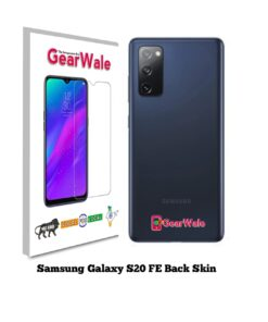 Samsung Galaxy S20 FE Back Side Glass Protector