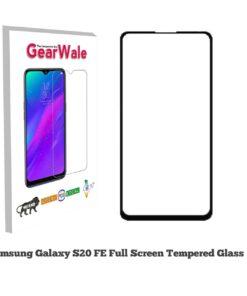 Samsung S20 FE OG Tempered Glass 9H Curved Full Screen Edge to Edge protected OG Tempered Glass 9H Curved Full Screen Edge to Edge protected