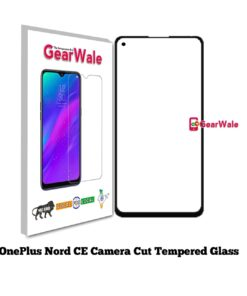OnePlus Nord CE Full Screen Tempered Glass with camera Cut Out