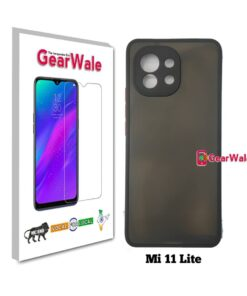 Mi 11 Lite Smoke Cover With Camera Protection Special Edition