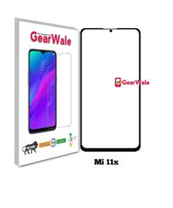 Mi 11x Full Screen Tempered Glass with camera Cut Out