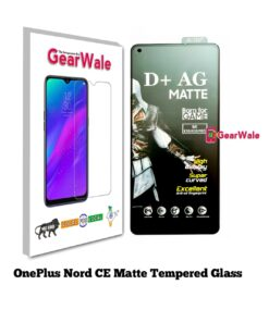 OnePlus Nord CE Matte Tempered Glass For Gamers