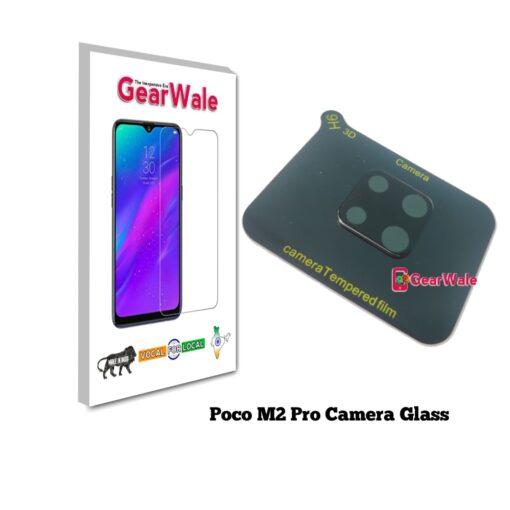 Poco M2 Pro Camera Bump Real Tempered Glass