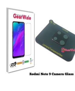 Redmi Note 9 Camera Bump Real Tempered Glass GearWale
