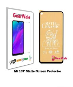 Mi 10T Matte Screen Protector for GAMERS