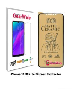 iPhone 11 Matte Screen Protector for GAMERS
